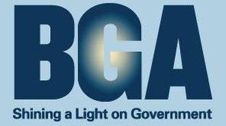 Better Government Association - Image: Better Government Association Logo