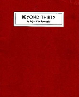 Beyond Thirty - First book edition of Beyond Thirty