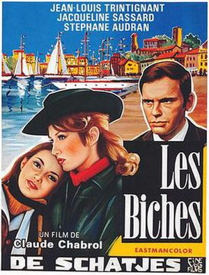 Les Biches (film) - Film poster for Les Biches