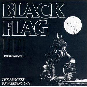 The Process of Weeding Out - Image: Black Flag The Process of Weeding Out cover