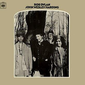 John Wesley Harding (album) - Image: Bob Dylan John Wesley Harding