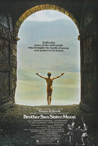 Brother Sun, Sister Moon - Theatrical release poster