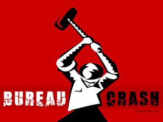 Bureaucrash Right-libertarian culture jamming group