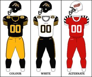 2013 Hamilton Tiger-Cats season - Image: CFL HAM Jersey 2013