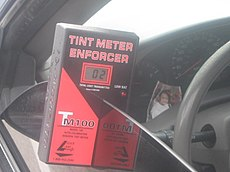 Illinois Window Tint Law >> Window film - Wikipedia