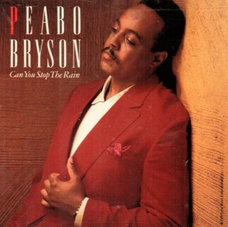 Can You Stop the Rain 1991 song performed by Peabo Bryson