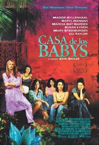 Casa de los Babys - Theatrical release poster