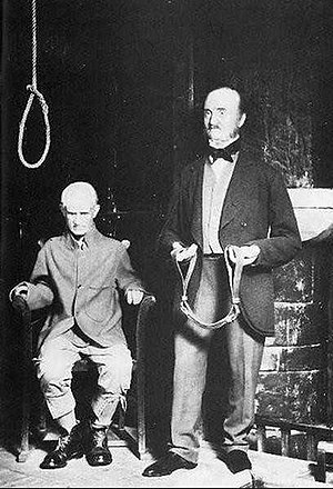 Chamber of Horrors (Madame Tussauds) - Image: Charlie Peace execution
