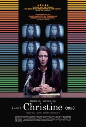 Christine (2016 film) - Theatrical release poster