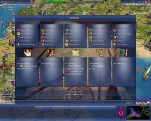 Civilization IV - Image: Civilization 4 Civics