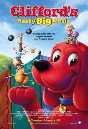 Clifford's Really Big Movie - Theatrical release poster