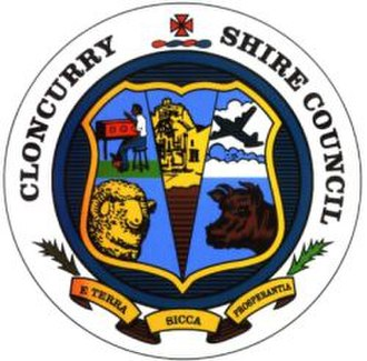 Shire of Cloncurry - Image: Cloncurry Shire Council Logo
