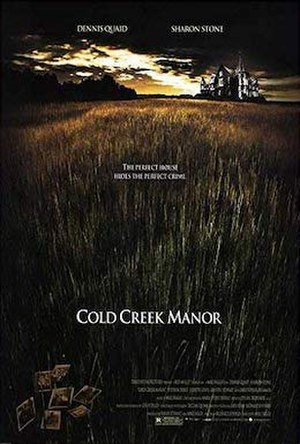 Cold Creek Manor - Theatrical release poster