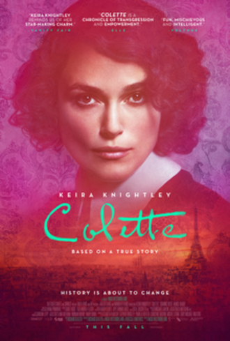 Colette (2018 film) - Theatrical release poster
