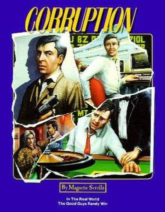 Corruption (interactive fiction) - European Cover art