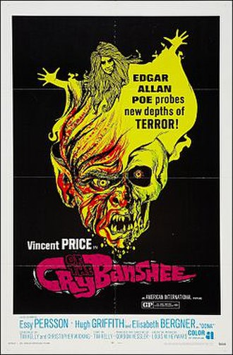 Cry of the Banshee - Theatrical release poster.