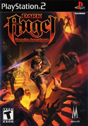 Dark Angel: Vampire Apocalypse - North American PlayStation 2 cover art