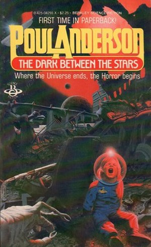 The Dark Between the Stars (short story collection) - Image: Dark Between the Stars (1981) Poul Anderson