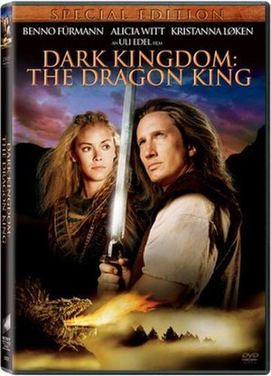 Dark Kingdom: The Dragon King - DVD cover