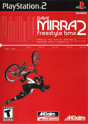 Dave Mirra Freestyle BMX 2 - North American PlayStation 2 cover art