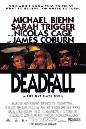 Deadfall (1993 film) - Theatrical film poster