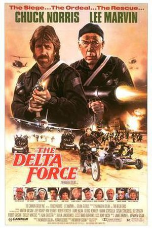 The Delta Force - Theatrical release poster