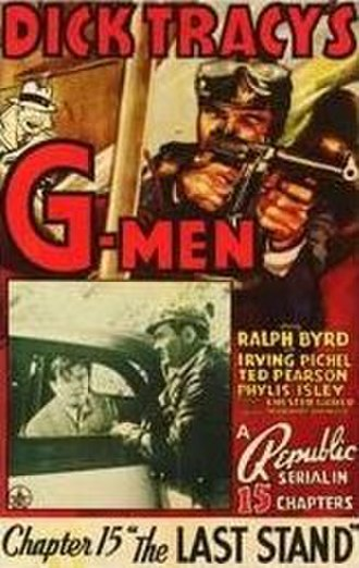 Dick Tracy's G-Men - Image: Dick Tracy G Men