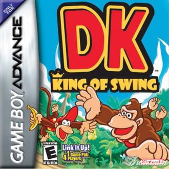 DK King of Swing - North American box art