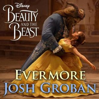 Evermore (Beauty and the Beast song) - Image: Evermore, Josh Groban single cover
