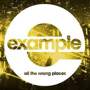 All the Wrong Places (song) - Image: Example All the Wrong Places Alternative Cover