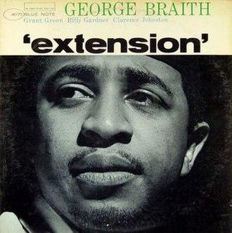 Extension (George Braith album) - Image: Extension (album)