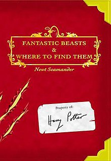 Image result for Fantastic beasts book cover