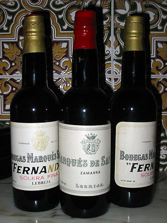 Fino - Solera Fina and Zamarra varieties of Fino, from Lebrija