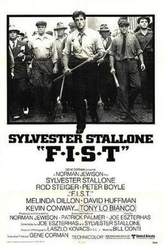 F.I.S.T. - Theatrical release poster