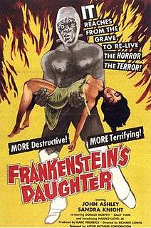 <i>Frankensteins Daughter</i> 1958 film by Richard E. Cunha