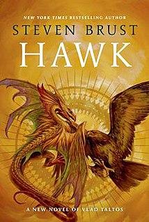 <i>Hawk</i> (novel) 2014 novel in the Vlad Taltos series by Steven Brust
