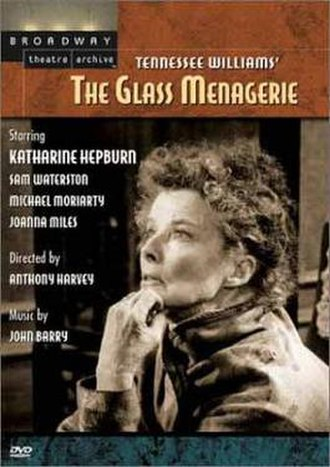 The Glass Menagerie (1973 film) - DVD cover