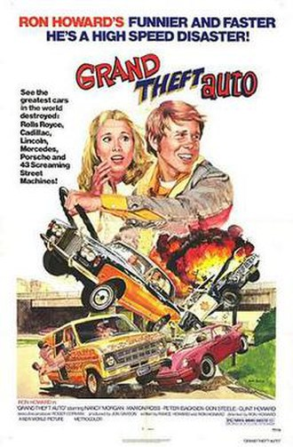 Grand Theft Auto (film) - Theatrical release poster by John Solie
