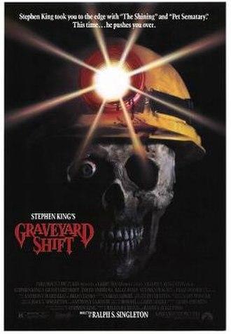 Graveyard Shift (1990 film) - Original theatrical poster