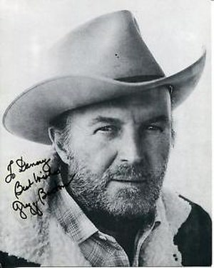 Gregg Barton - Autographed photo