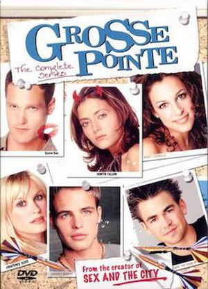 Grosse Pointe (TV series) - Grosse Pointe Complete Series DVD Cover.