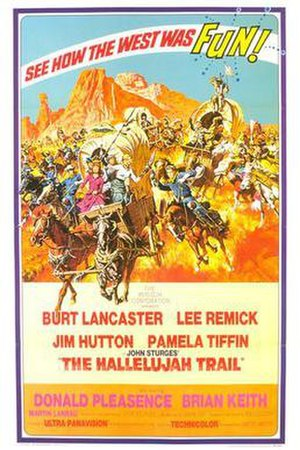 The Hallelujah Trail - original film poster by Robert McGinnis