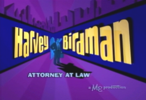 Harvey Birdman, Attorney at Law - Image: Harvey Birdman Title