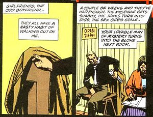 John Constantine - John Constantine discusses his previous girlfriends and boyfriends.