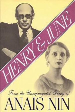 Henry and June - Cover