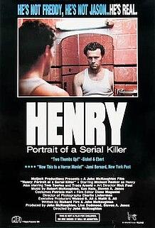 <i>Henry: Portrait of a Serial Killer</i> 1986 American crime psychological thriller film directed by John McNaughton