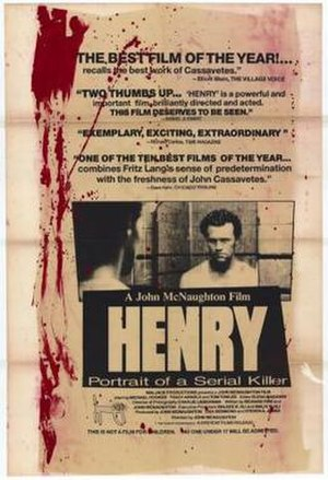 Henry: Portrait of a Serial Killer - Original film poster