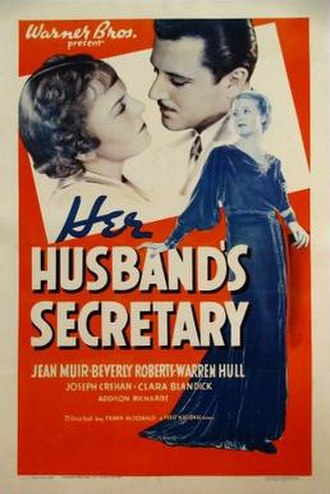 Her Husband's Secretary - Theatrical release poster
