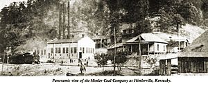 Beauty, Kentucky - The Himler Coal Company as it appeared in its heyday in the early 1920s.