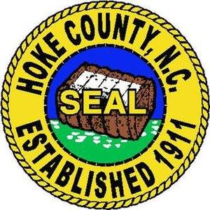 Hoke County, North Carolina - Image: Hoke county seal nc
